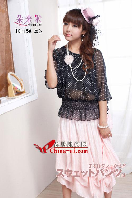 重庆服装网报道:朵来米品牌女装今日成功入驻时尚126正品商城