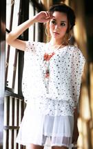 2010夏装-缤蔓-杂志力推爆款小星星洋装