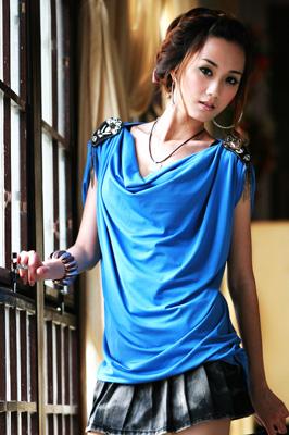 2010夏装-缤蔓-时尚无袖单品上衣