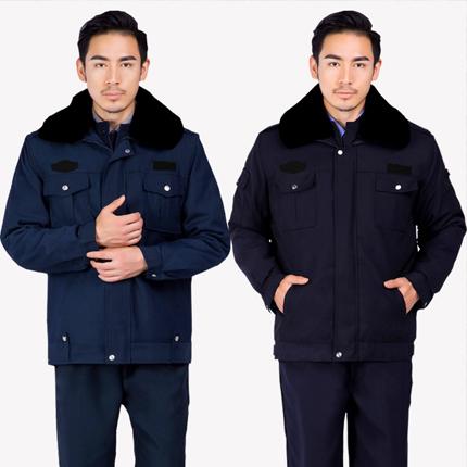 大衣防寒服保安制服工作服棉衣
