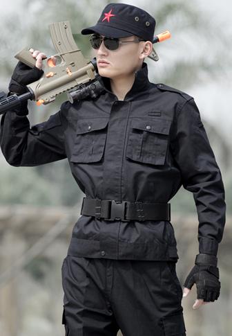 军迷服装套装男 耐磨多袋工作服